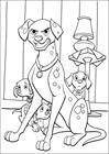 102 Dalmatians 23 coloring page