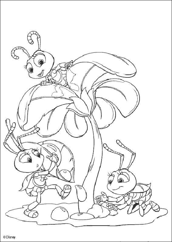 A Bugs Life 03 coloring page