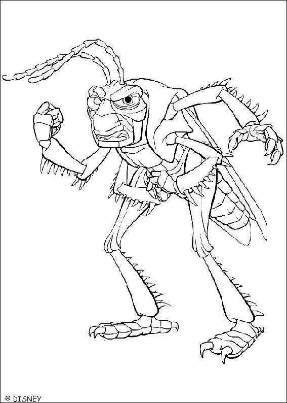 A Bugs Life 06 coloring page
