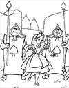 Disney Alice in Wonderand coloring page