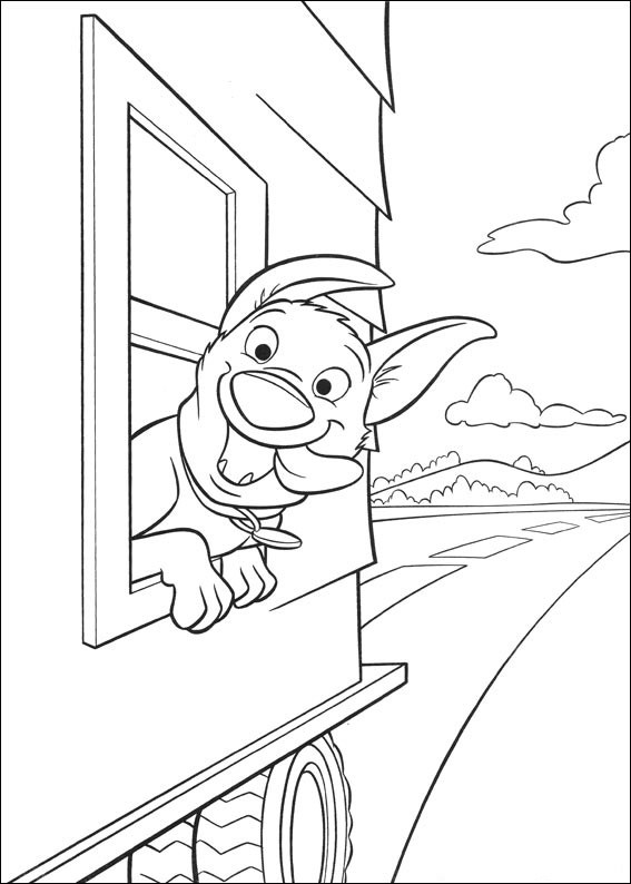 Bolt fun coloring page