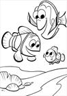 Nemo and friends coloring page