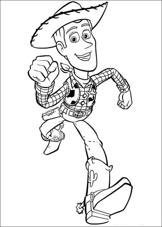 Toy Story 004 coloring page