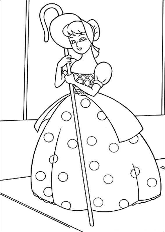 Toy Story Mini Coloring Book | Coloring Page