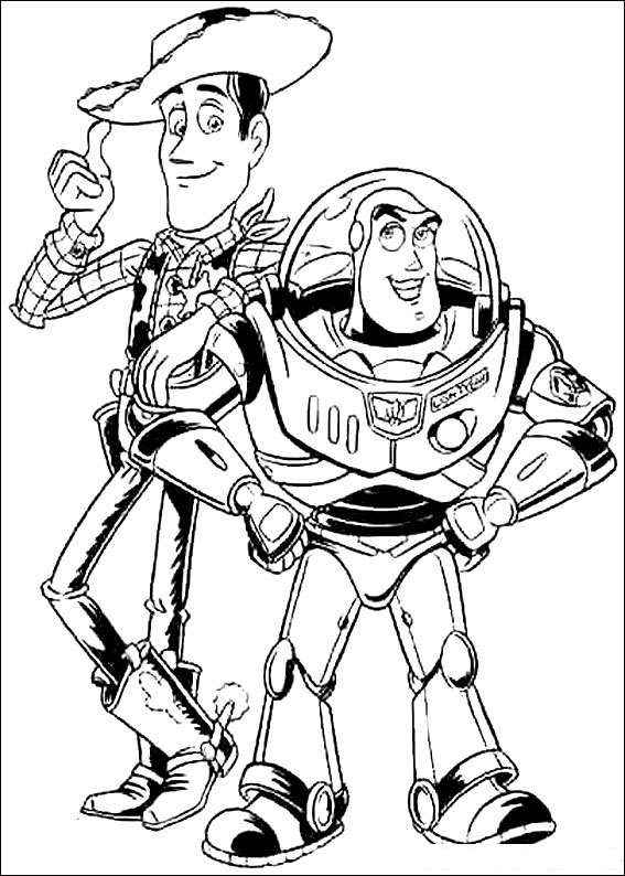 Toy Story 027 coloring page