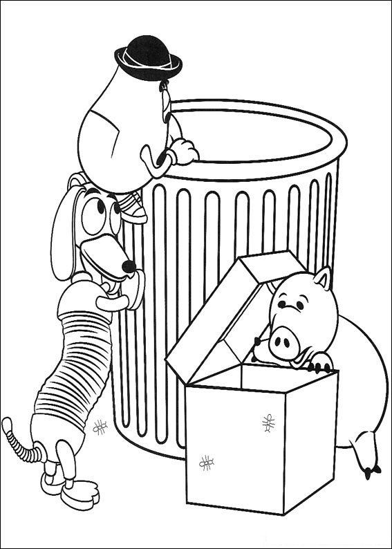 Toy Story 049 coloring page