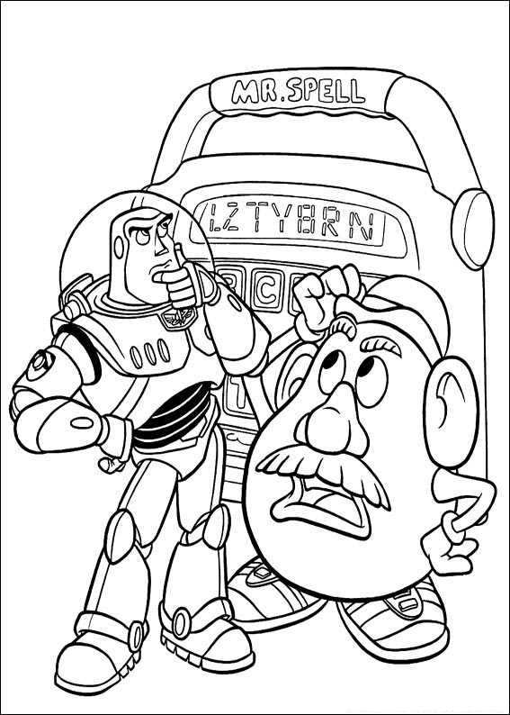 Toy Story 061 coloring page