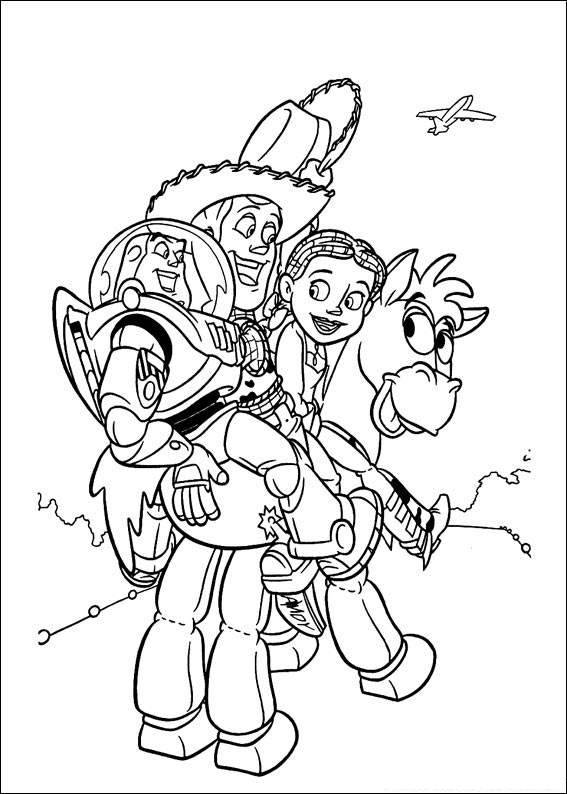 Toy Story 065 coloring page