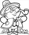 St Patrick's day 5 coloring page