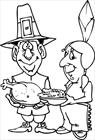 Thanksgiving 3 coloring page