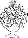 Flower 14 coloring page